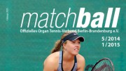 Matchball – Tennis in Berlin und Brandenburg 01-2015-Titel