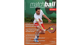 Matchball – Tennis in Berlin und Brandenburg 04-2014-Titel