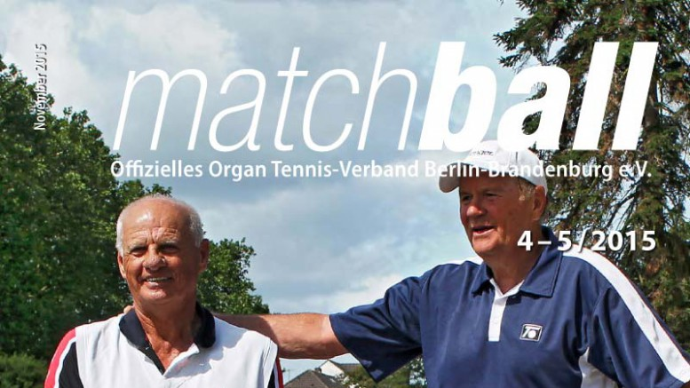 Matchball – Tennis in Berlin und Brandenburg 04-2015-Titel